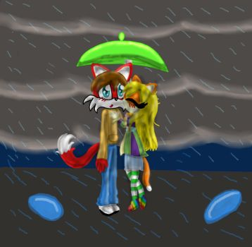 .::Saving me from Rain::. by Catycrazyness