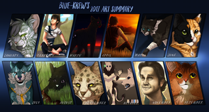 2017 Summary of Art by Blue-Krew