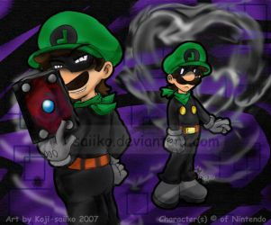 Mario: Wielder of Darkness by saiiko