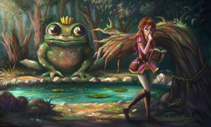 Princess...frog...etc by Sicarius8