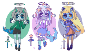 Etoileur Adopts Pack 3 (closed) by Super-Gabou
