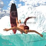 Stoked Real - Emma Wipes Out by WhazzupPeeps