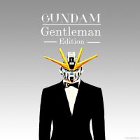 Gundam Gentleman 3 by xavierlokollo