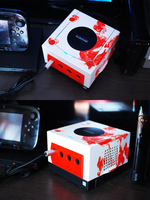 Custom Gamecube - Resident Evil by Woodstockowa