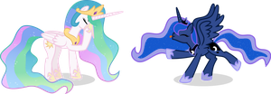 The Princesses by MrEmerald34