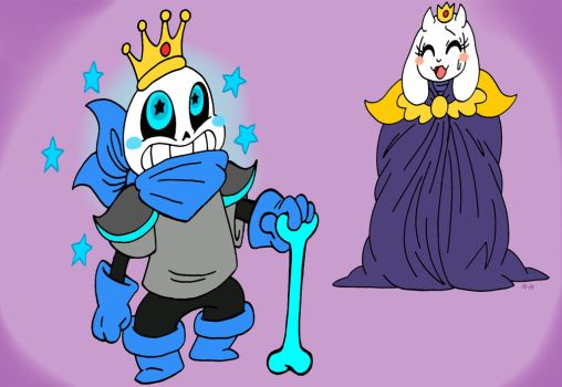 I am the King of Queen Toriel by LiLLi-ViLLa