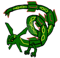 Rayquaza by md427