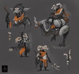 Substrata - Skull scavengers. by funzee