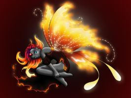 Fire Fairy by LicieOIC