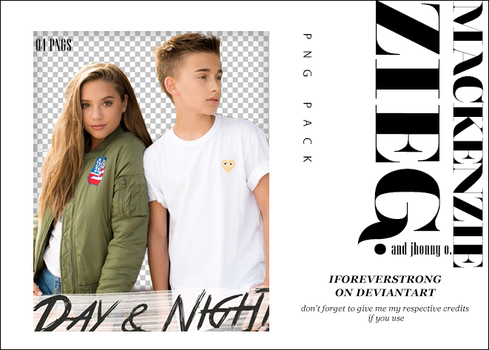 Pack Png 037//Mackenzie Ziegler| Day And Night by iForeverStrong
