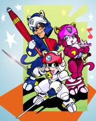 Samurai Pizza Cats by rsj