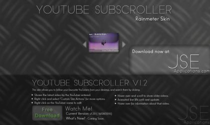 YouTube Subscroller V1.2 by MetalCactuar
