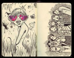 Sketchbook No.2 by Kesoglu
