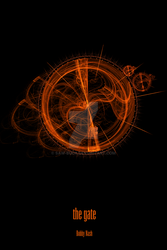 The Gate - Fractal Art Poster by Saw-Buck