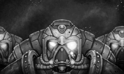 We March For The Emperor - Warhammer 40K by RahByte