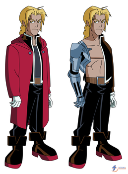 Edward Elric (DCAU Style) | COMMISSION by JTSEntertainment