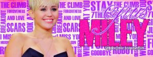 Header Miley Cyrus by Somedaysmile