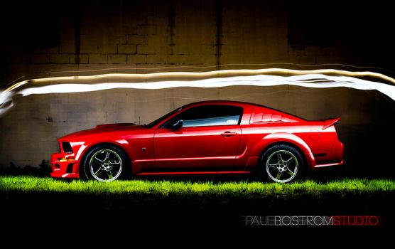 Rousch Mustang by eviolinist