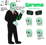 Gerome Reference Sheet by HerobrineSings