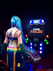 Arcade Sona Pump it Up!: But I just started! by SNTP