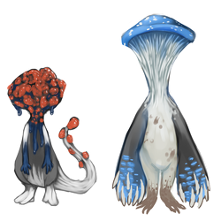 Mushroom adoptables (closed) by ToothlessEgo