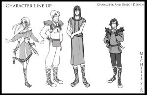 Character Line Up by LordMaru4U