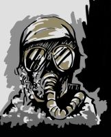 ZDS: 'Gasmask' by angelsXdemons