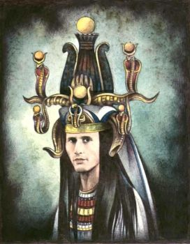 Michael Wincott as a Pharaoh by ebe-kastein