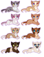 Puppy Point Adoptables OPEN by lol-adopts