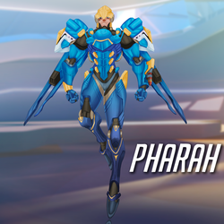 Pharah Overwatch by JeyraBlue