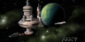 space station by Turedi