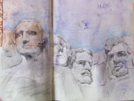 Mount Rushmore by missam