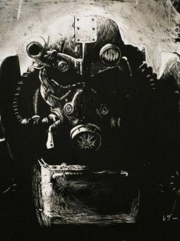 Fallout 3 Scratchboard by Rehtael