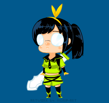 Vindictus: Chibi Delia by Vichip-Art