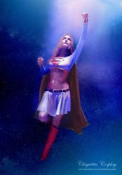 Supergirl - Stars by chiquitita-cosplay