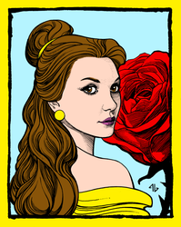 Belle by portfan