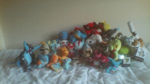 ALL MY POKEMON PLUSHIES UPDATE #4