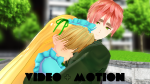 MMD Angel Beats Scene by SophieNyan