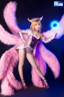 League of Legends Popstar Ahri by aoandou