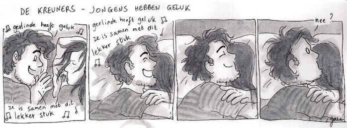 Based on Flemish song Boys are so lucky by gerre