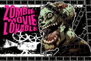 Zombie movie lovable by redkamome