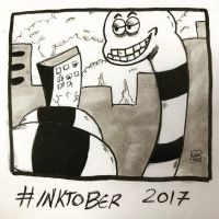 Inktober 2017, Day 5, Long by maestromakhan
