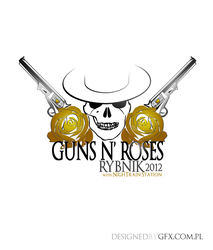 Guns N' Roses Rybnik 2012 t-shirt project 2 by l24d