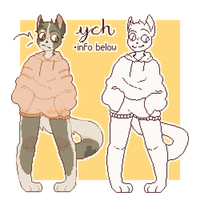 Hoodie YCH // closed by shrvbb
