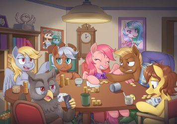Ponies from Arround the World - Poker Night! by nauth