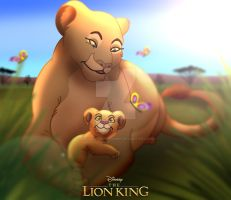 The Lion King - An Afternoon with Grandma by imaginativegenius099