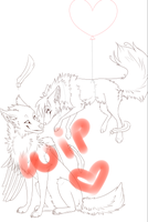 I Can Fly Like You! :: WIP by LittleRavine