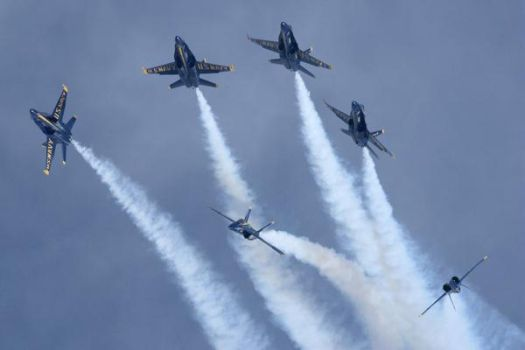 Blue Angels 2 by ScorpioDesigner