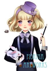 Magician ~ Holiday Commission Halfbody by Fiorina-Artworks