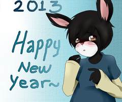 Happy New Year! by wizardotaku